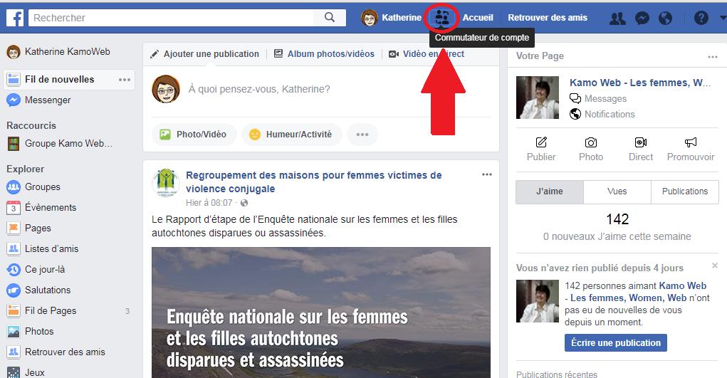 Alternez Facilement Entre Deux Profils Sur Facebook Une Nouvelle