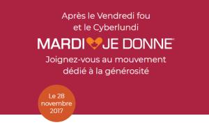 Image de la campagne Mardi Je Donne du 28 novembre 2017