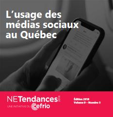 L'usage des médias sociaux au Québec, CEFRIO